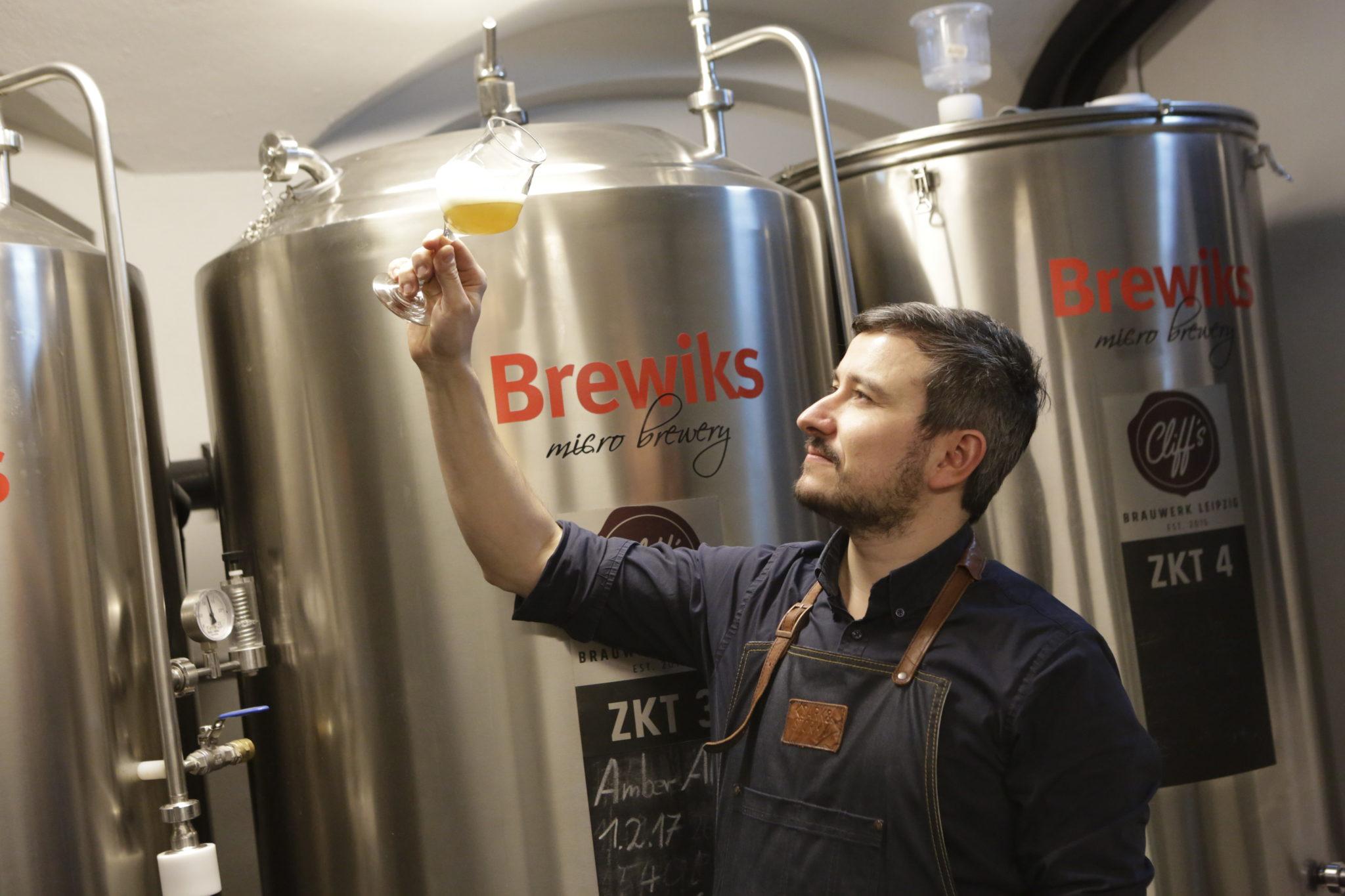 Cliff´s Brauwerk Bier Craft-Beer Leipzig Bar Waldstraßenviertel Geschmackskompass Tipp Food Blog Blogger
