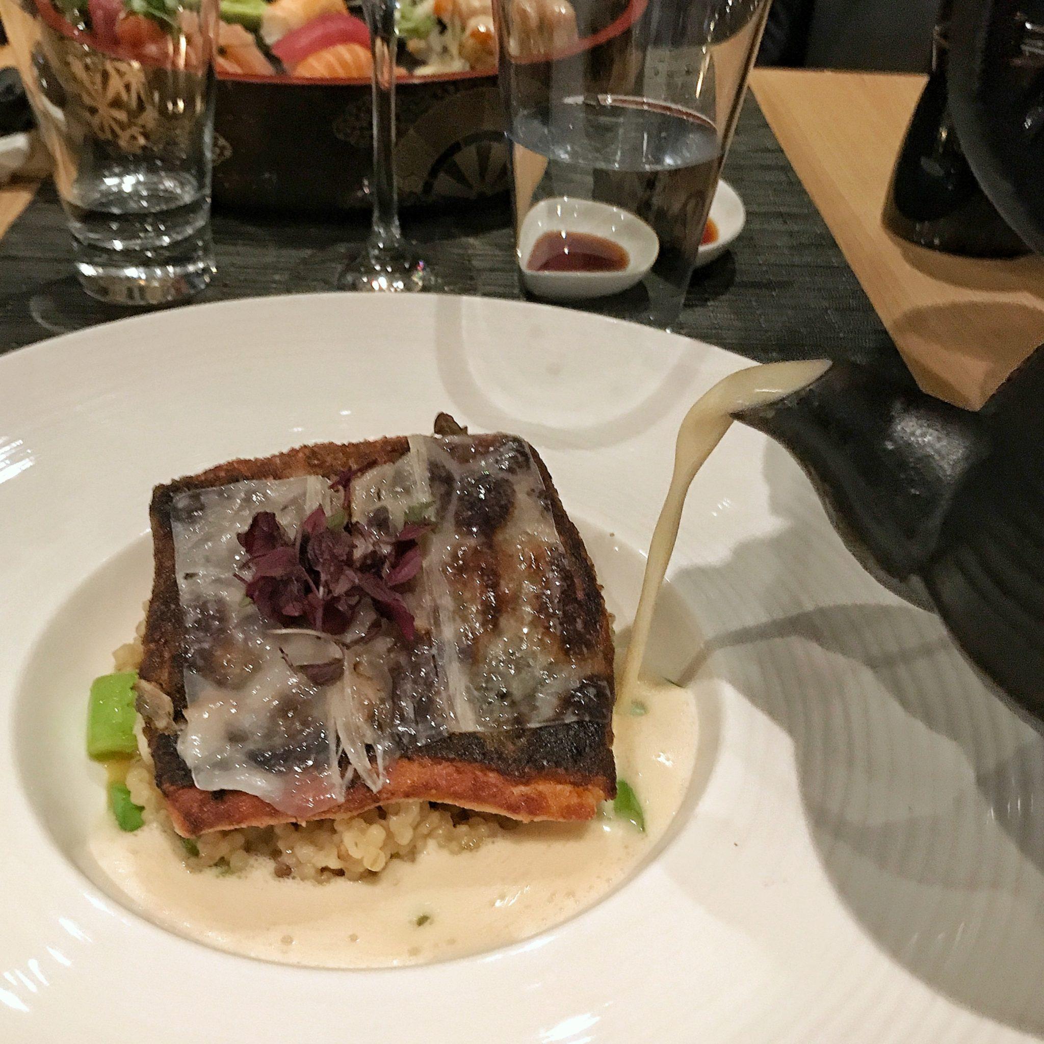 Geschmackskompass Ono by Steffen Henssler Restaurant Tipp Hamburg Gebratener Fisch