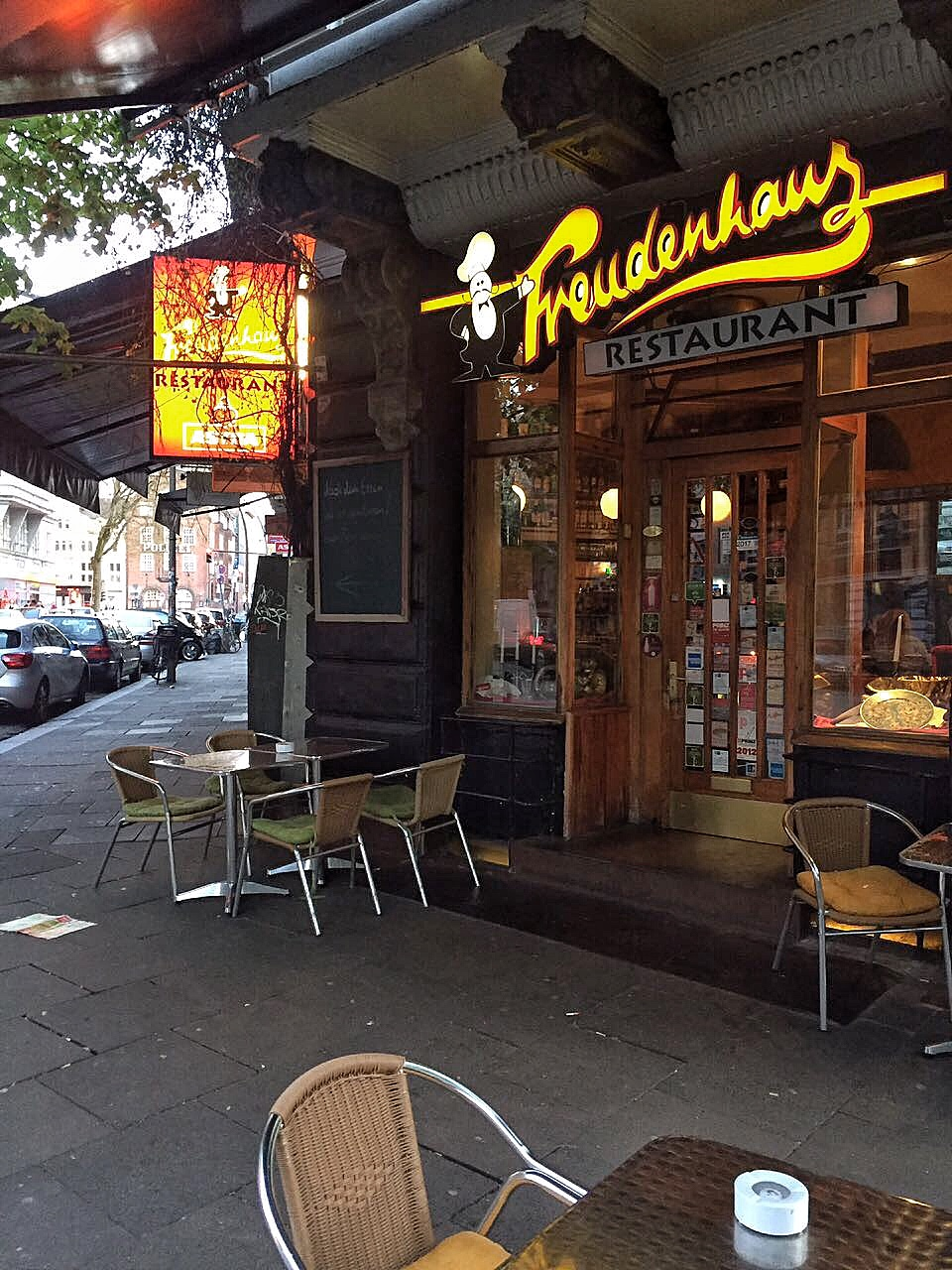 Geschmackskompass Freudenhaus Restaurant Tipp Hamburg St. Pauli Food Blog Blogger