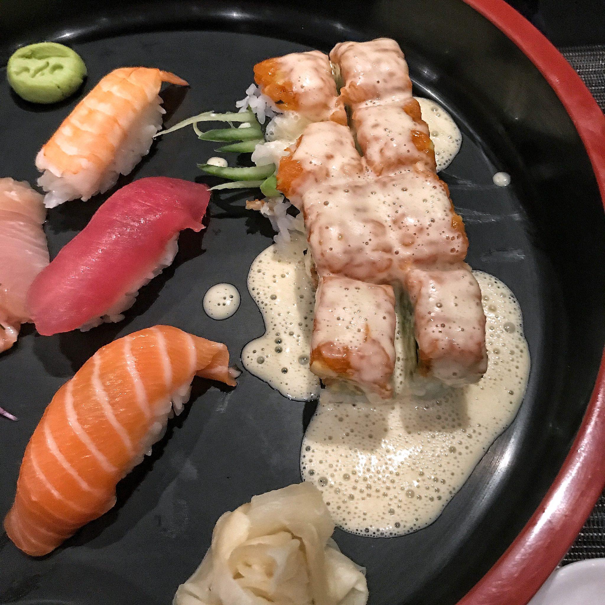 Geschmackskompass Ono by Steffen Henssler Restaurant Tipp Hamburg Suhsi Variationen