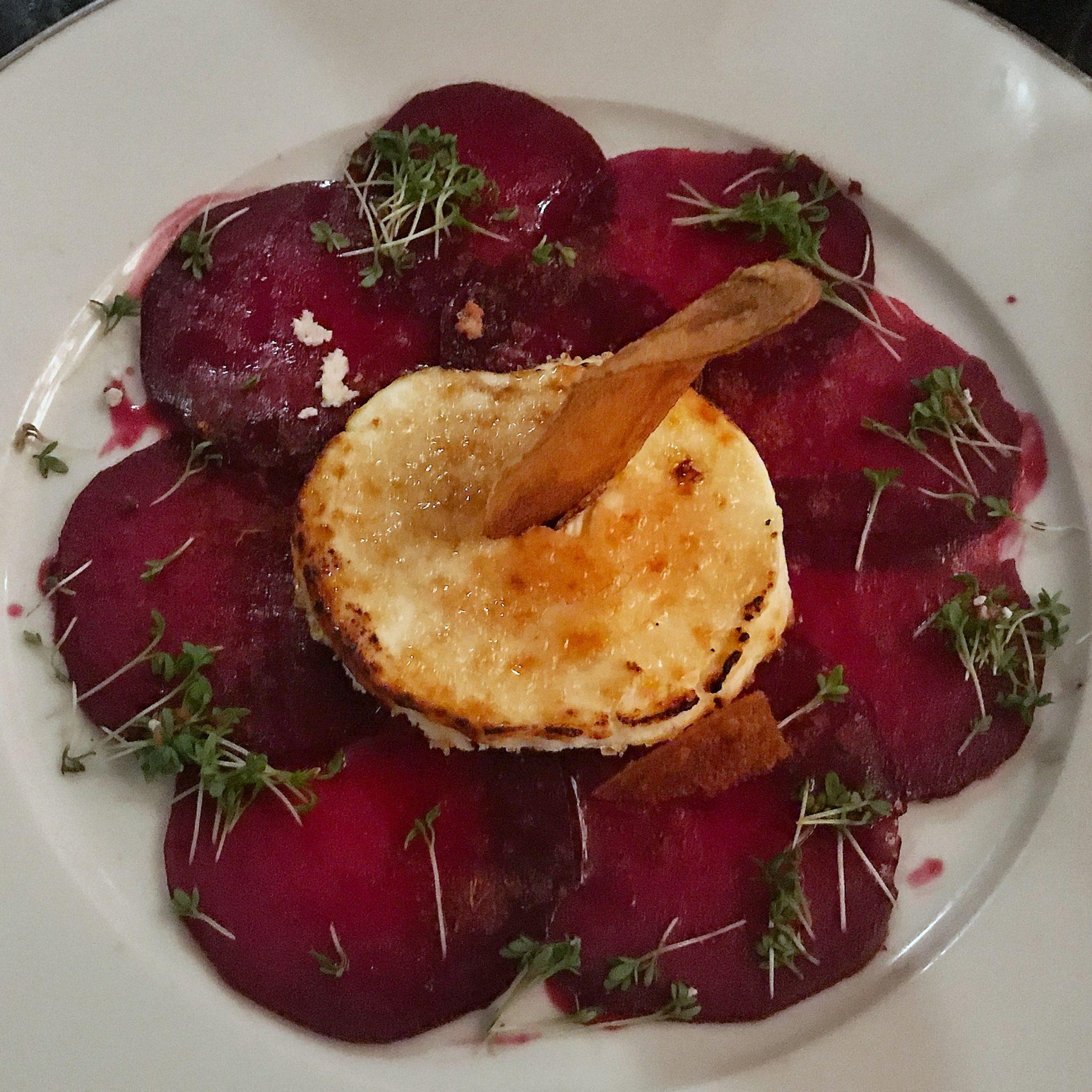 Geschmackskompass Restaurant Tipp Hamburg Brüdigams Rote Bete Carpaccio Food Blog Blogger