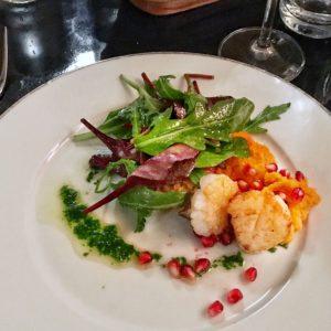 Jakobsmuscheln im Brüdigams Restaurant Tipp Geschmackskompass Hamburg