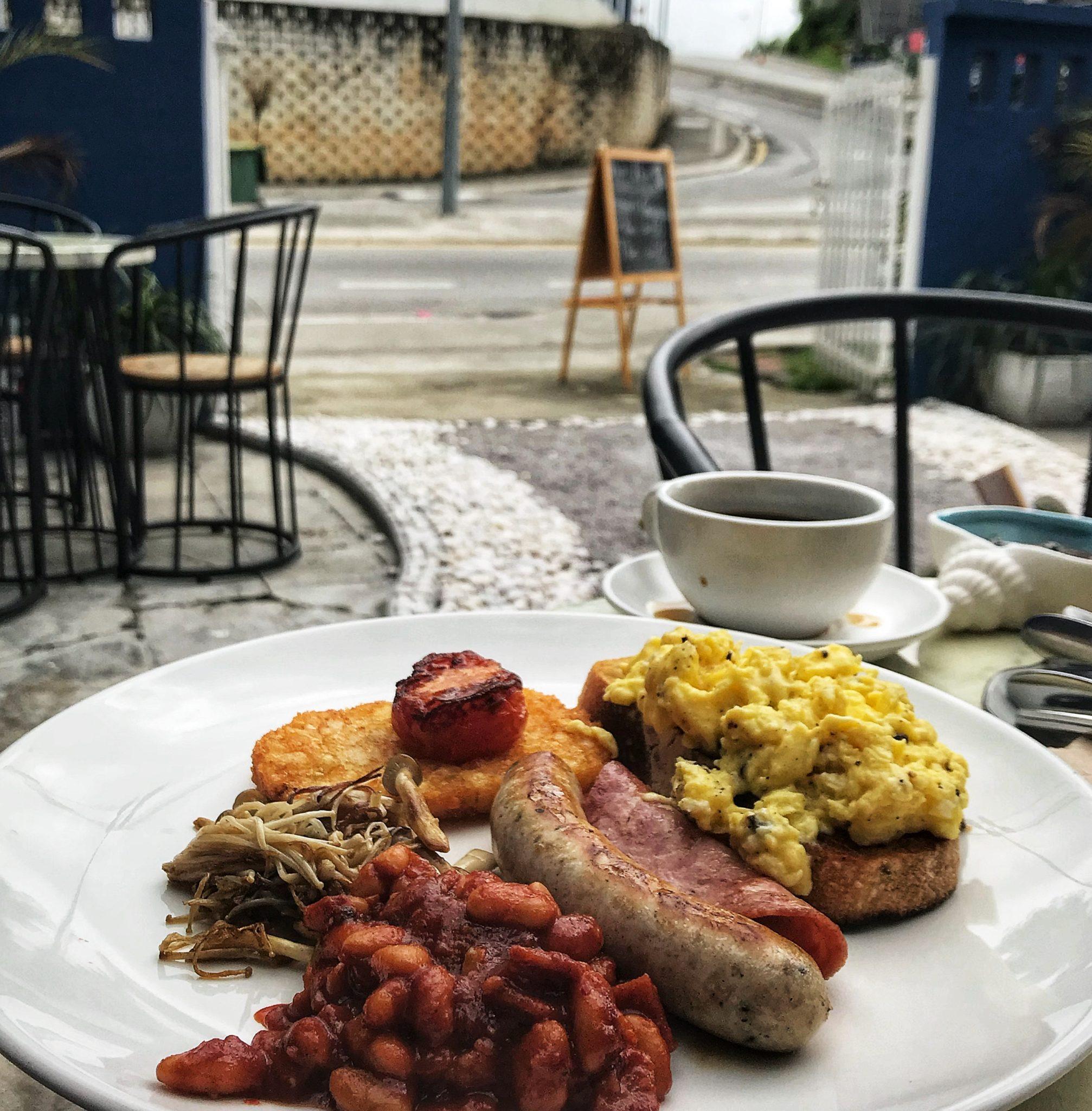 Frühstück in Kuala Lumpur