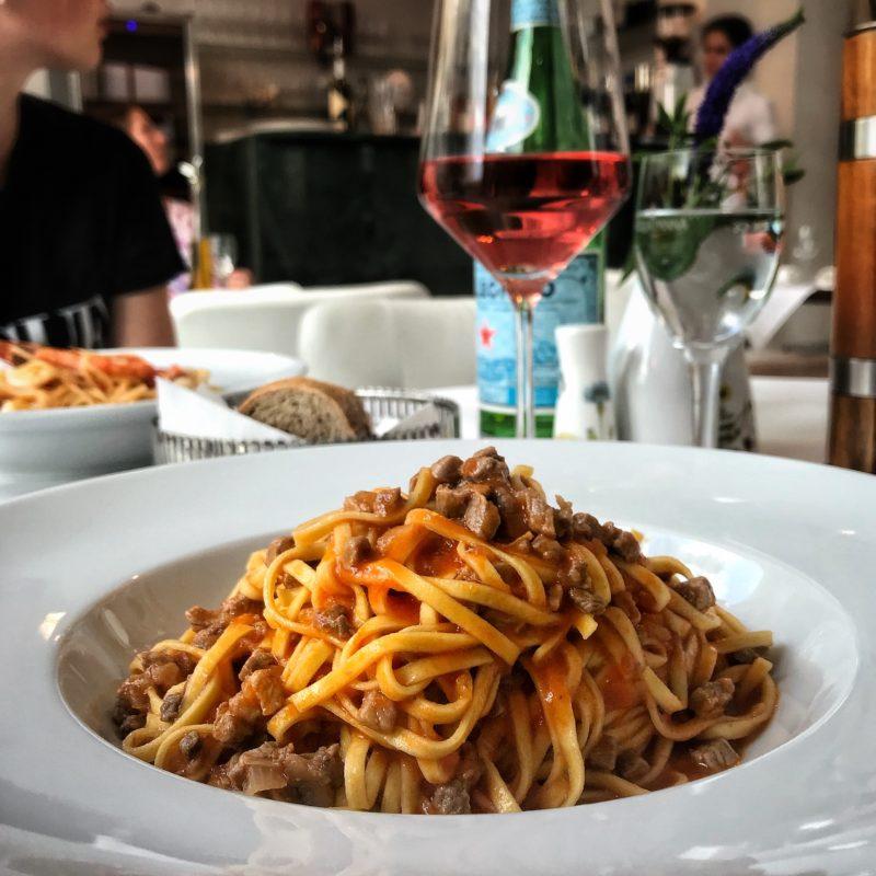 Pasta im italienischen Restaurant Localino in Leipzig