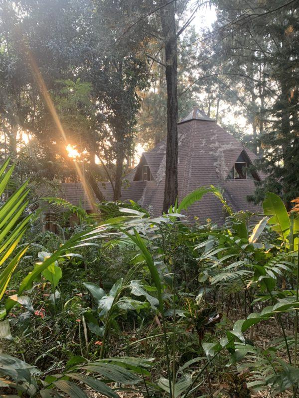 Tempel Las Piramides del Ka in Guatemala