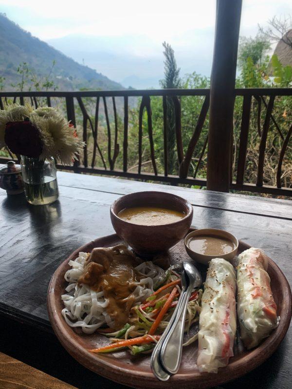 Yoga Forest Guatemala Food