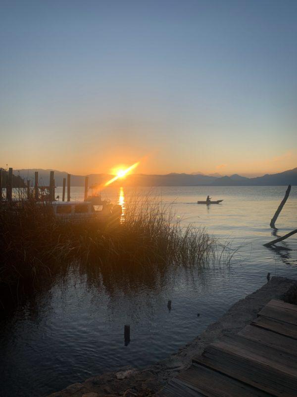 Sonnenaufgang Lago Atitlán