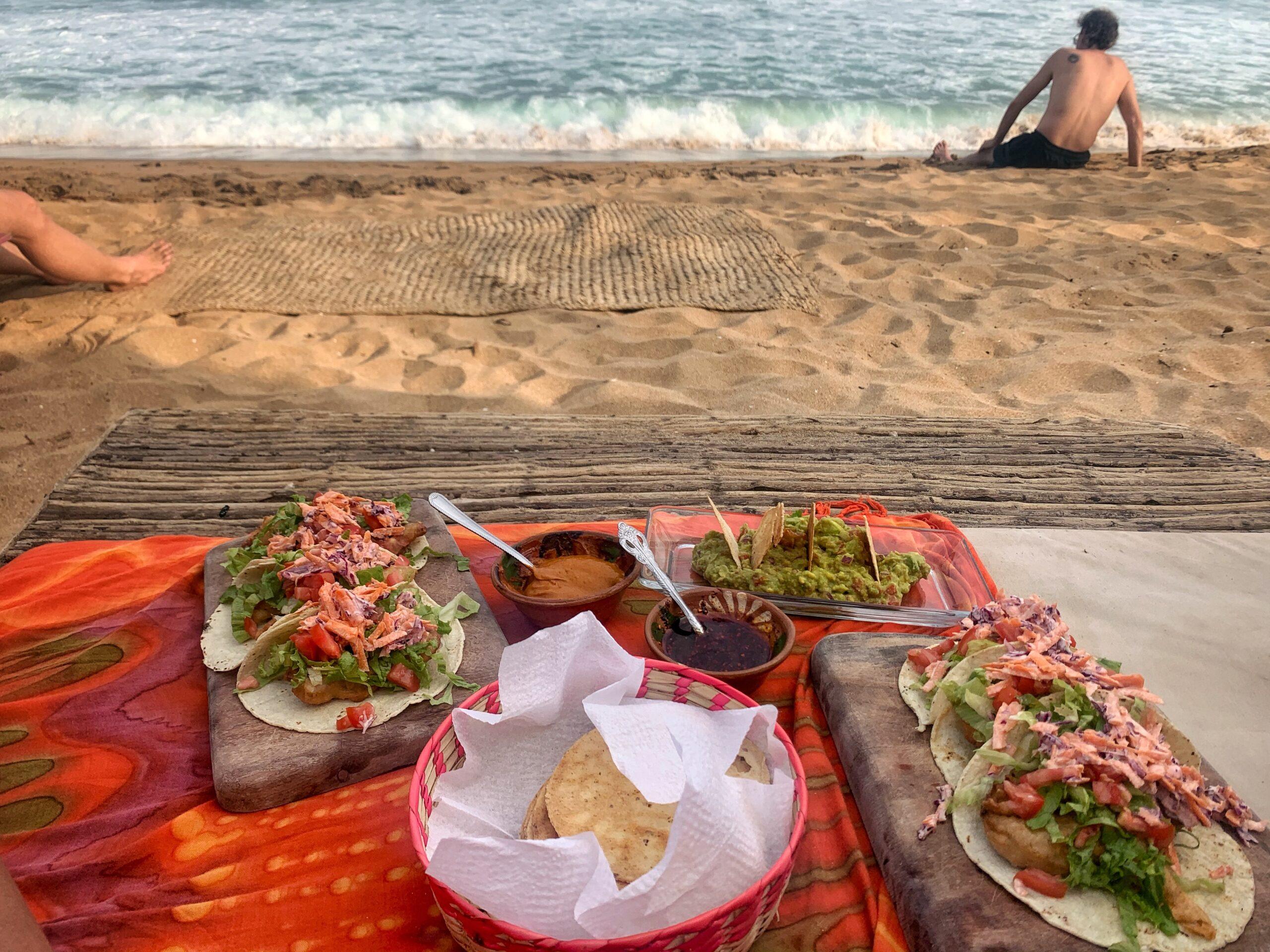 Beachbar Corazon Mazunte Mexiko